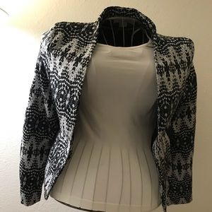 H&M Black/Grey Blazer/Jacket